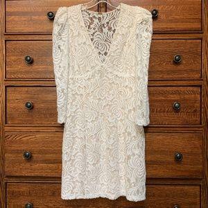 Free People Boho Lace Dress size Small